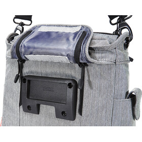 KlickFix Allegra Fashion Cykeltaske, grey